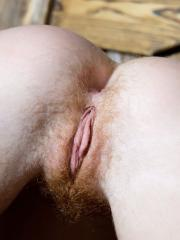 Beautiful natural redhead Brisa shows you her stunning firecrotch