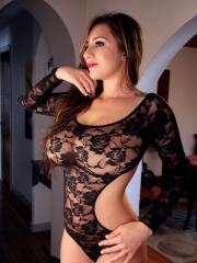 Candids of September in see-through lace