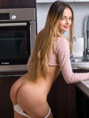 Teen hottie Mary gets messy in Cooking Class
