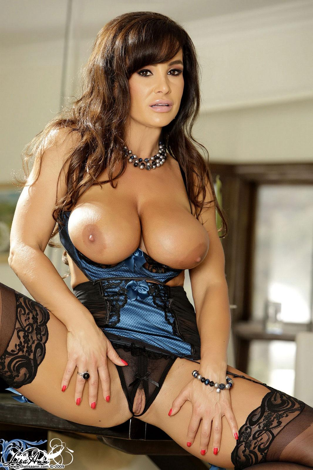 Consider, that busty models lisa ann above