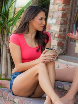 Celeste Star and Leah Gotti enjoy every moment licking their pussies