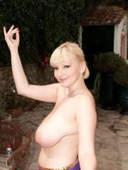 Valory Irene gets together with her busty friends for a hot dance party