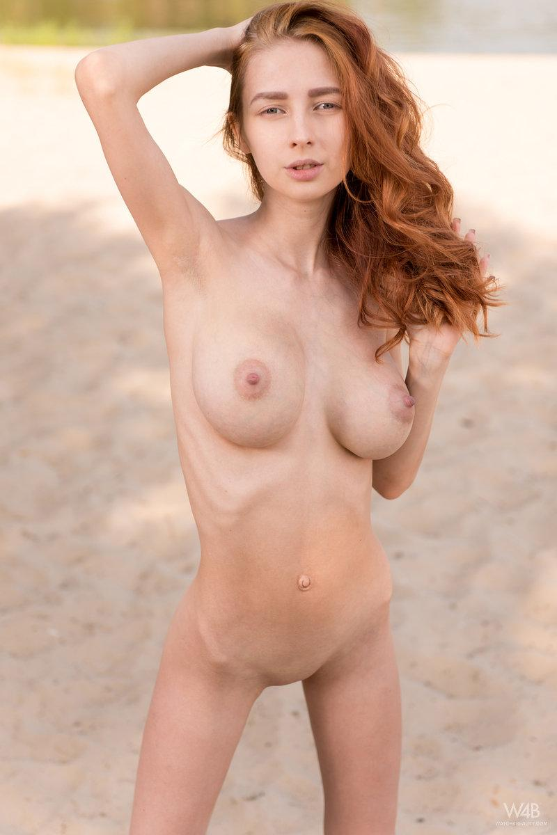 Busty Redhead Helga Gets Naked For You In New Talent Helga -9673