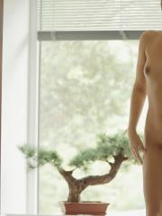 Beautiful brunette girl Ivy invites you to join her for a hot bubble bath