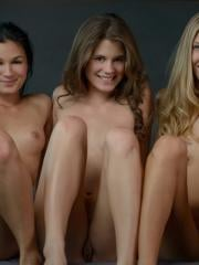 Stunning girls Caprice, Michelle H, Krystal Boyd and Keira team up for one wild night